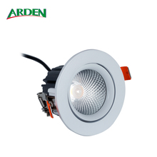 IP65 12W 3Inch Dimmable Anti-glare Ceiling Recessed COB LED Downlight