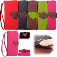 Wholesale Factory Price Mobile Phone Case for Xiaomi RedMi 4/4A/4X/Note 4 PU Leather Flip Cell Phone Back Cover