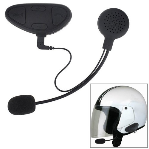 M1 Motorcycle Helmet Bluetooth Intercom Headset, Distance: 100m
