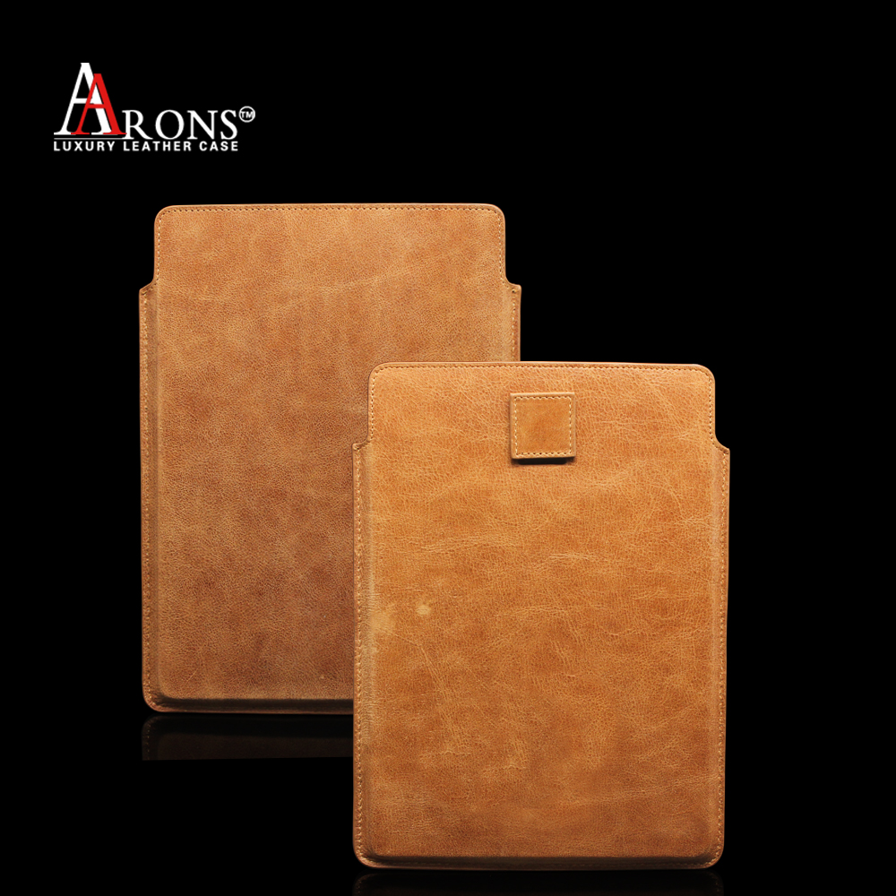 Genuine Leather Case For iPad 5 Tablet , Sleeve Bag Pouch for iPad Air