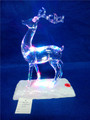 Christmas decorations with LED acrylic reindeer ornaments
