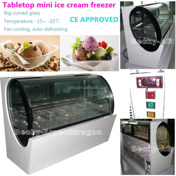 -20degree C mini ice cream freezer with CE approval
