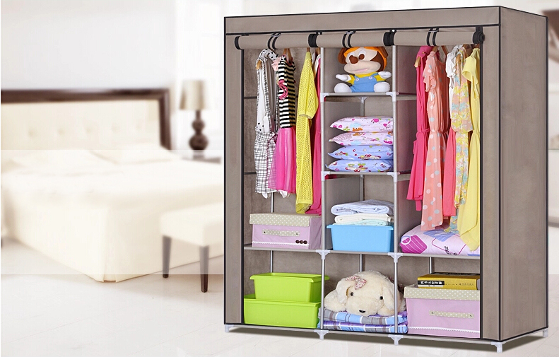 Etonnant Folding Wardrobe Fabric Cabinet,Hot Sale Folding Buy Portable Cheap Wardrobe  Closet   Buy Folding Wardrobe,Cheap Wardrobe Closet,Wardrobe Closet Product  On ...