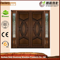 Various Unique Design Main Double Door Wooden Door
