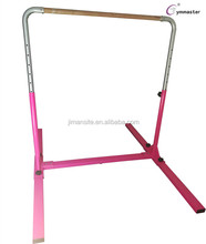 Portable gymnastic kids training bar for sale