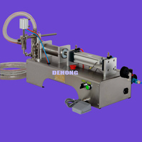 Semi Automatic Water Liquid Filling Machine