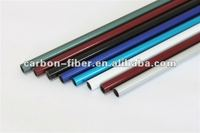 glass fiber surface mixed carbon fiber tube/pipe