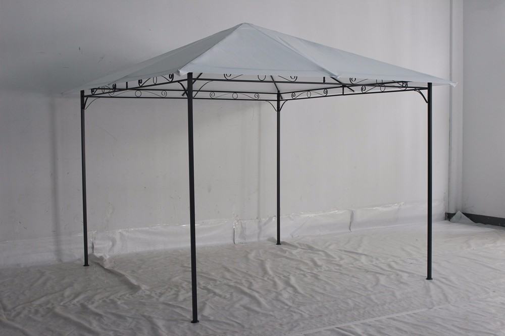 3x3m outdoor gazebo with roof