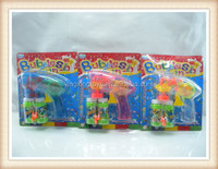 hot sell summer toy flash bubble gun
