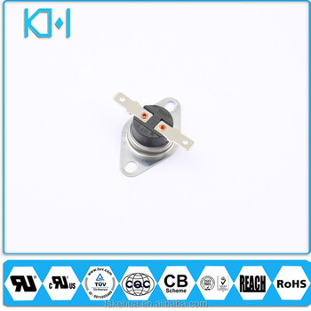 Bimetal Thermostat Switch 10a 16a 125v 250v Copper Head Thermostat ul cqc tuv ksd 301