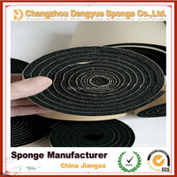 Solar panels air heating units draught sealing shockproof sponge rubber seal