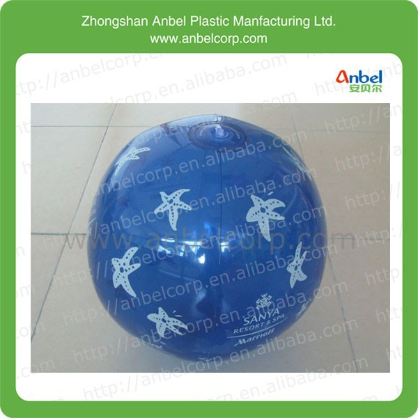 "led Customized 12 "" 36"" 48"" Inflatable Swimming Pool Lake Water Beach Ball blue red yellow color"