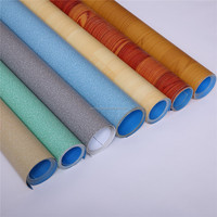PVC floor covering / marble vinyl flooring roll/ plastic wooden flooring