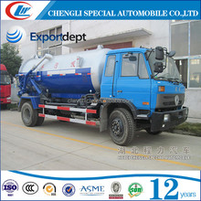 Dongfeng truck 4x4 vacuum sucker truck with Italy vacuum pump