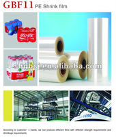 High Quality PE Shrink Wrap Clear Plastic Film