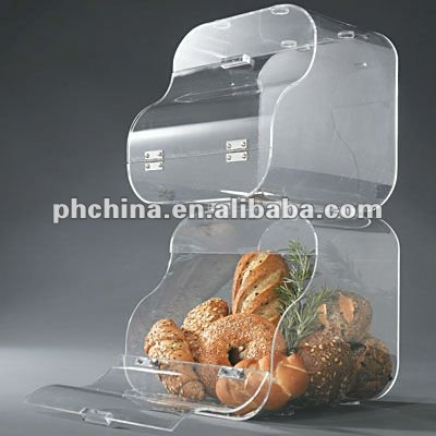 VC-031 Acrylic Stackable Bakery Display Bin