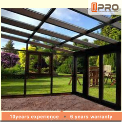 china aluminium sunroom anti-aging sunroom uv resistant sunroom
