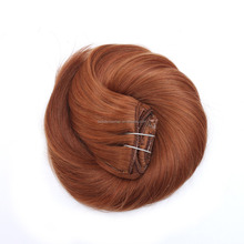 Clip In Hair, light color #30 natural wave Hair Weave/Hair extension