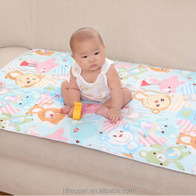 TW3003 Colorful cute printing 100% cotton baby diapers soft breathable surface winter cover for baby
