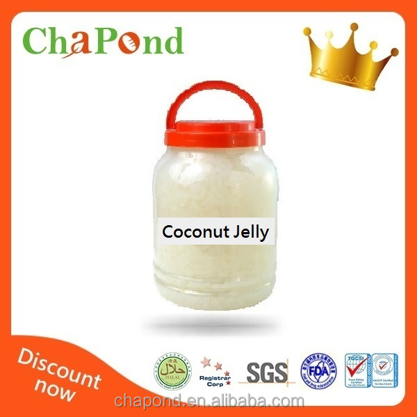 Hot Sale Nata De Coco Jelly Bubble Tea Material Coconut Jelly
