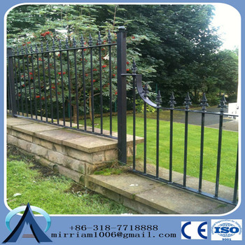 Perfect Fence Solution for Mountains & Slopes tubular steel fence