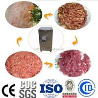 meat processing machine frozen meat grinder