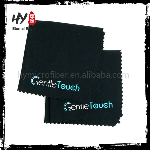 Reusable microfiber jewelry polishing cloth, microfiber camera lens cleaning cloth, custom logo microfiber lens cleaning cloth