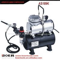 Airbrush Compressor Kit with 3L tank make up compressor