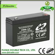 good quality rechargeable lead acid agm vrla exide ups batteries 6v 10ah