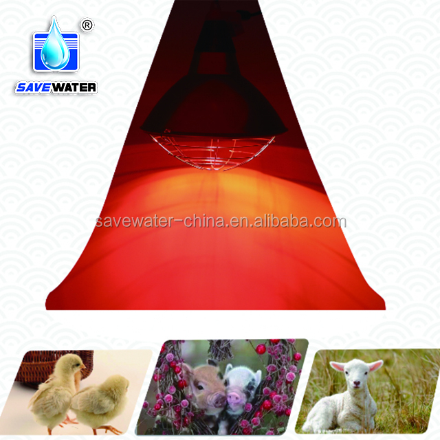 175 Watt energy efficient infrared heat lamp and bulb for chicks poultry piglets, goats and sheep animal house