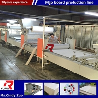 mineral fiber ceiling board production line/advanced mgo board making machine production line