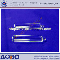 High quality clear quartz boat or wafer carrier or clear quartz glass boat 1224