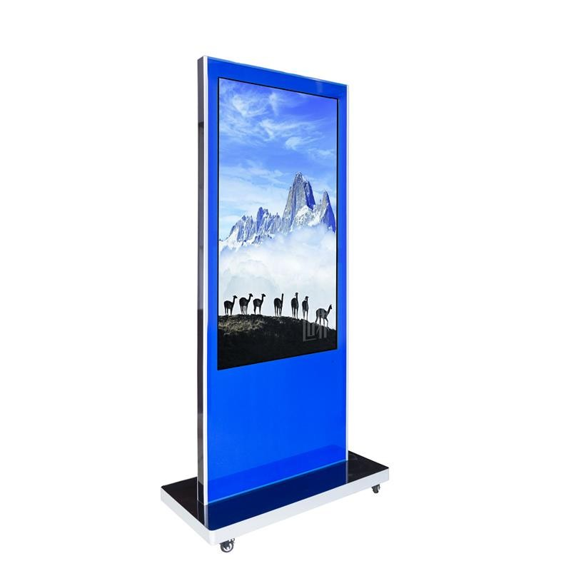 CE,FCC, ROHS factory supply High quality IR touch 60 Inch Standalone floor standing