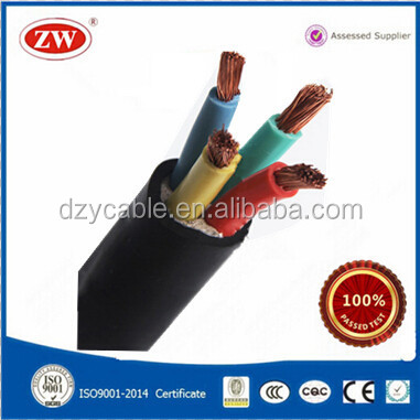 0.6/1kV Copper 4 Core 4mm PVC Cable