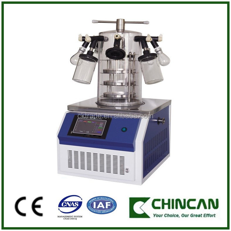 SCIENTZ-10N 12N Series High Quality Lab Use Freeze Dryer Lyophilizer Vacuum Freeze Drying Equipment