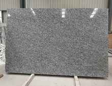 Own Factory Rough Edge Polished Spray White Granite Slabs Polished