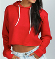 Cotton/Spolyester Fleece Hoodies Spring Sports Woman Wear