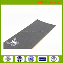 Skateboard Griptape 9x33inch with stamp printing Logo Professional Grip Tape