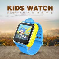 1.54 inch Touch Screen 3G GPS Watch Kids Support GMS wcdma Sim Card Smart Hand Watch Mobile Phone