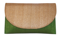 Triveni Trendy Jute & Raw Silk Combo Fancy Clutch 10