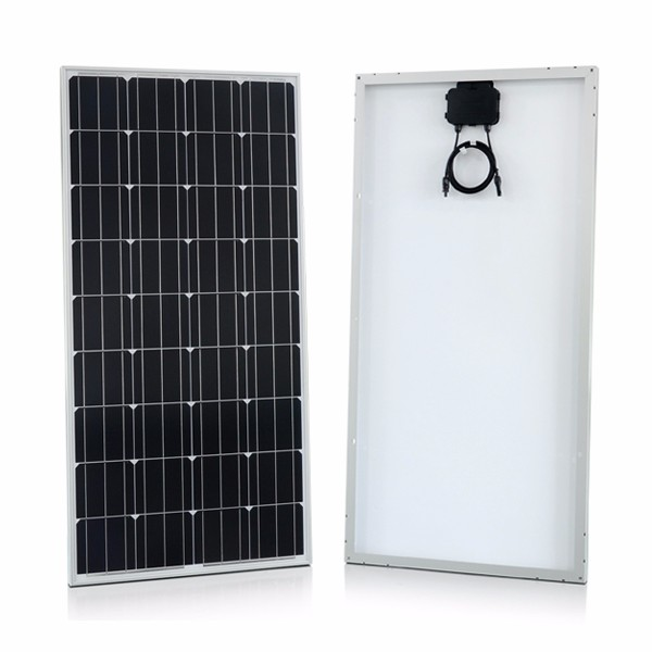 roof mounted PV module 100w 200w 300w mono solar panels for home system use