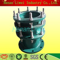 S312/02S404 flexible metal water treatment dresser metal dismantling expansion joint