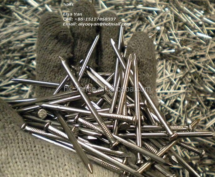 2017 wholesale price common iron nail for wood,6cm common round wire nail for construction