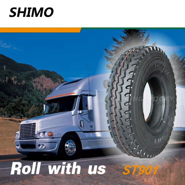 SHIMO ST901 Strong stability china truck tires sale to saudi arabia 9.00R20
