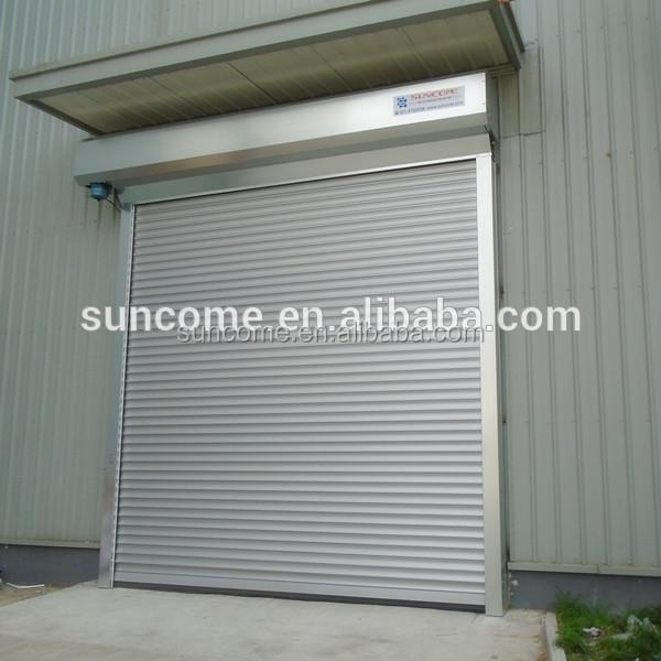 Automatic Exterior Aluminum Rolling Shutter Door Prices Buy Aluminum Door P