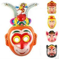 Cheap PVC Theme Mask/Cartoon Party Mask
