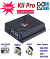 The best 4K hd satellite KII pro DVBT2+DVBS2 android tv box Amlogic Quad core 2GB 16GB kodi 16.1 WIFI 2.4G+5G 100M