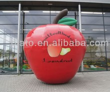 PVC Display and advertising inflatable apple