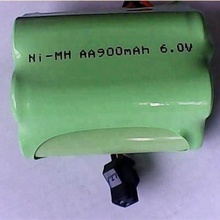 cheap price 6v aa 900mah nimh rechargeable battery pack for outdoor solar light
