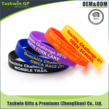 Bulk cheap silicone wristbands /personalized silicone bracelet / rubber bracelet